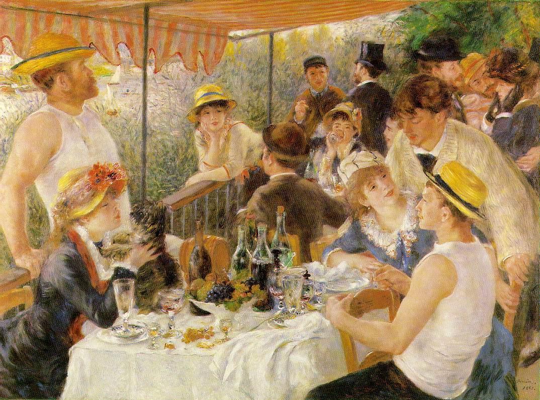 Auguste Renoir 1841-1909, Das Frühstück der Ruderer